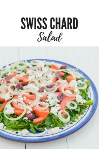 What is the difference between spinach and swiss chard? Here explained as well as a great Swiss Chard salad recipe.
