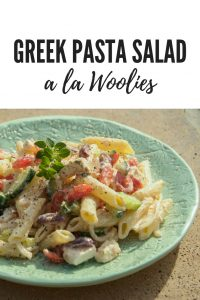 Looking for a healthy greek pasta salad that is an absolute crowd pleaser? I have adapted a Woolies recipe to suit my own taste - full of vegetable & no mayonnaise needed!