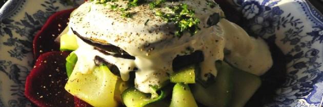 Fricken' fabulous veggie stacks