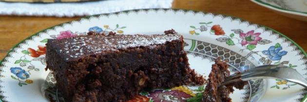 Chocolate almond torte