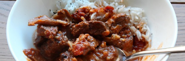 Beef goulash and a big announcement!