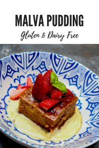 Do you have food intolerances but still want to indulge with one of South Africa yummiest dessert? You can with this delicious gluten & dairy-free version of Malva Pudding.