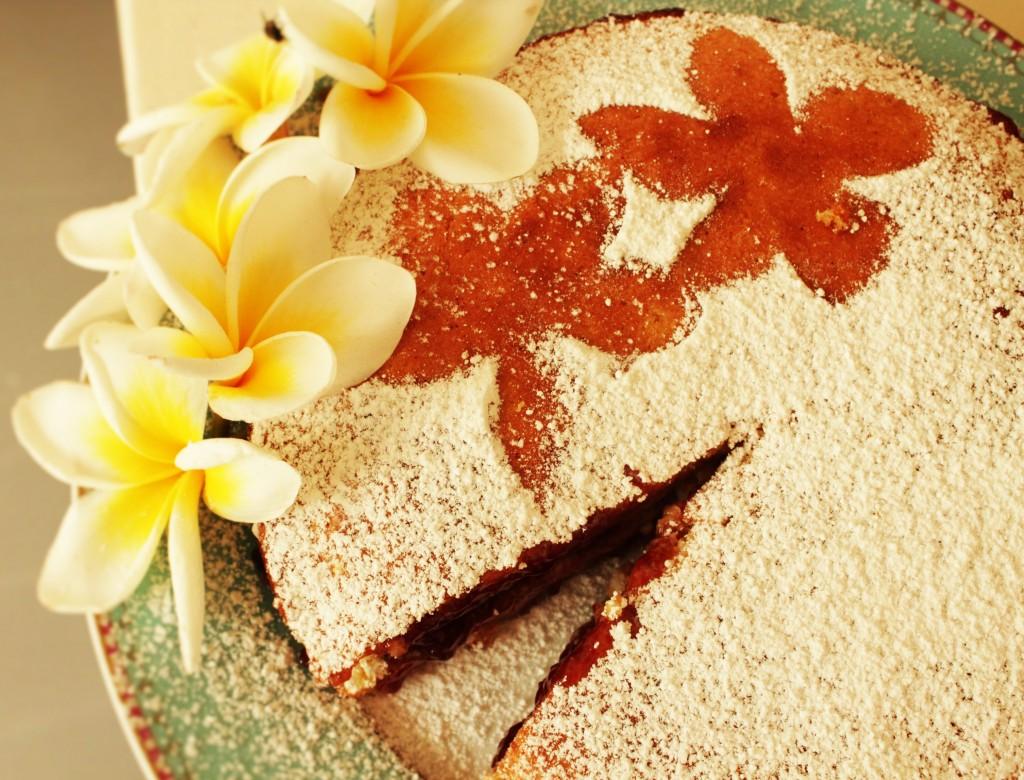 sponge cake step 1