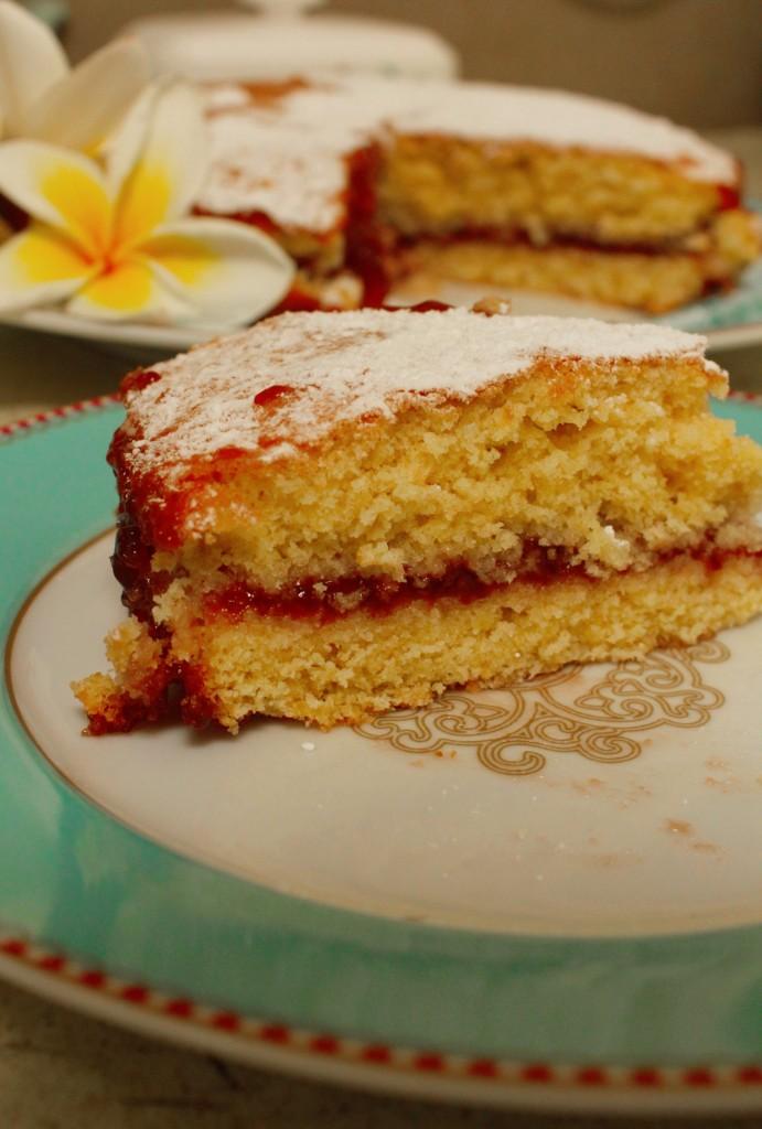 sponge cake step 4