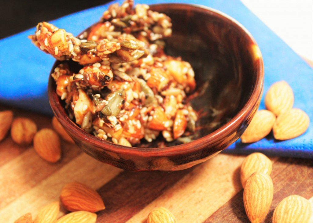 Seed and Almond Brittle