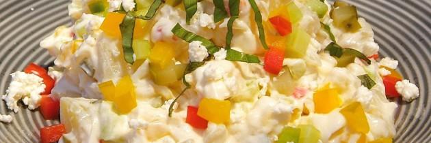 Low fat potato salad