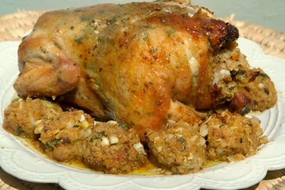 The Ultimate Roast Chicken Stuffing