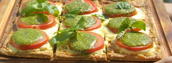 Fool proof tomato tart