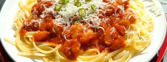 Prawn Arrabiata Pasta in less than 10 minutes!