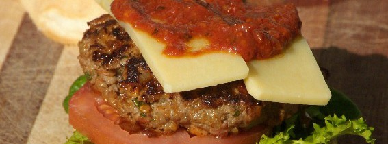 Cashew and basil burger patties