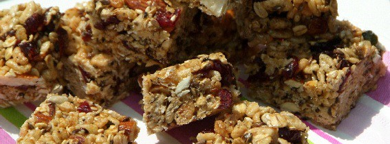 Super quick cereal bars