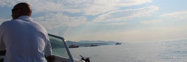 Working the Monaco Grand Prix