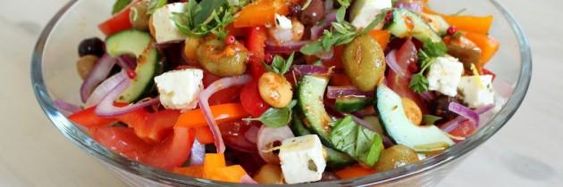 Greek salad my way