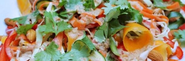 Flavor burst Pad Thai salad